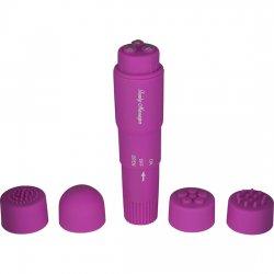 Stimulateur TETES INTERCHANGEABLES violet