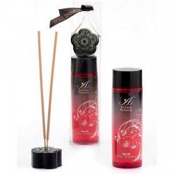Effet de l'huile de massage chaleur froid fraise