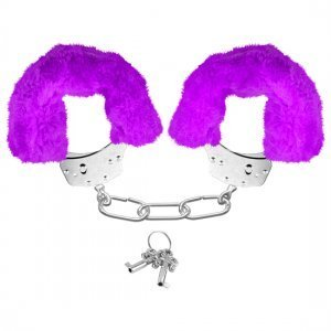 Épouses en peluche néon violet