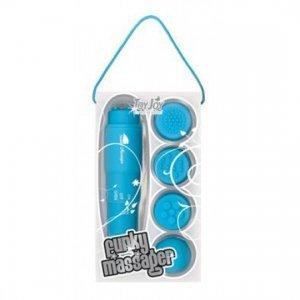 Estimulador con Cabezales Intercambiables Azul
