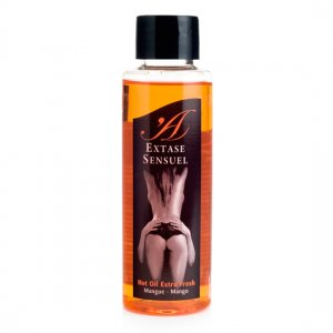 Massage oil Extase Sensuel heat effect handle - diversual.com
