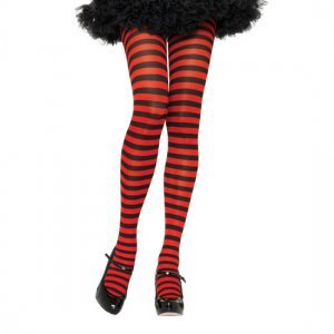 Black striped tights and Red Queen