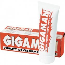 Gigaman cream for the increase of virility