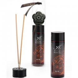 Massage oil effect cold Chocolate Orange