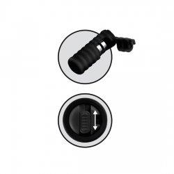 Aspiration des tétons silicone avec vibrateur