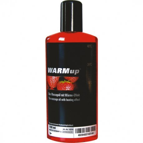 Massage oil heat effect Strawberry