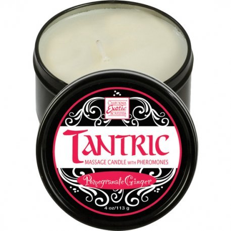 With pheromones Granada Tantric massage candle