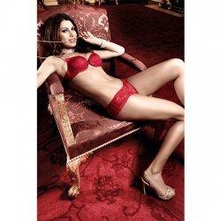 Culotte de Encaje Rojo