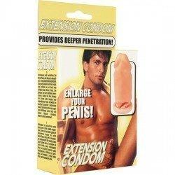 Latex penis extension