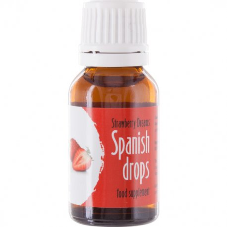 Spanish Fly drops of the love dreams of Strawberry