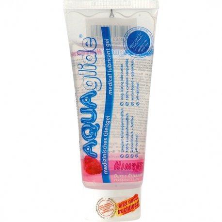 Saveur de lubrifiant Aquaglide framboise 100 ml