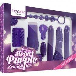 Kit de jouet de sexe Mega violet