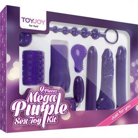 Mega Purple Sex Toy Kit