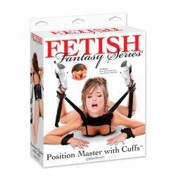 Fantasía Fetichista Posición Principal con Esposas