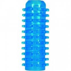 Masturbateur main bleu