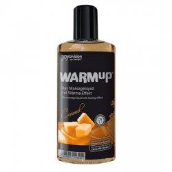 Effet de chaleur au caramel d'huile de massage