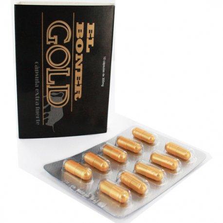 Golden Gold Cápsula Extra Fuerte 10 Unidades