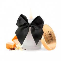 Caramel and sea salt edible massage candle