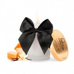 Caramel and sea salt edible massage candle