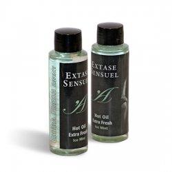 Massage huile effet Extra glace fraîche