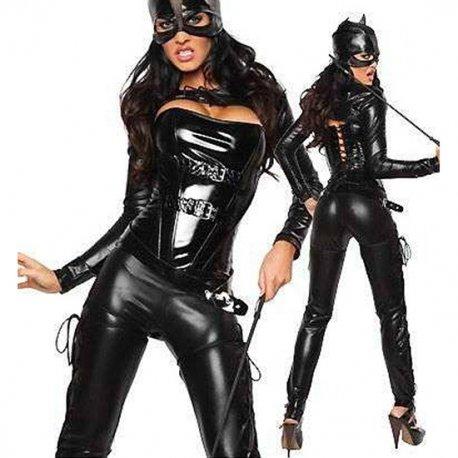 Disfraz Mono Catwoman Negro