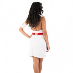 Disfraz Nurse Kenya Blanco