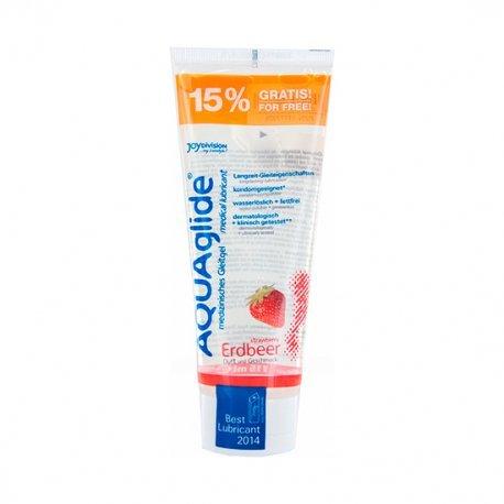 Aquaglide Lubricante Sabor Fresa 115 ml (+15% Gratis)