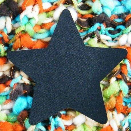 Pezoneras Black Star Negro