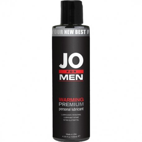 Jo For Men Lubricante Premium Efecto Calor 125 ml