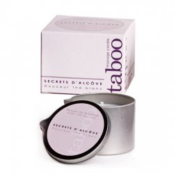 Massage candle Secrets D Alcove white tea