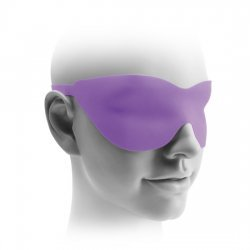 Elite Double Delight vibrator harness purple