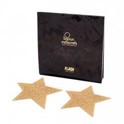 Golden Star Flash pour décorer le corps