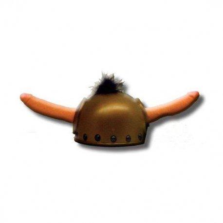 Casco Vikingo con Pitos