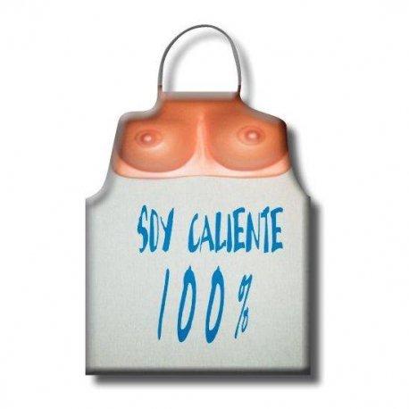 Delantal Tetas Soy Caliente 100%