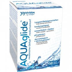 Gousses de lubrifiant 50 Aquaglide