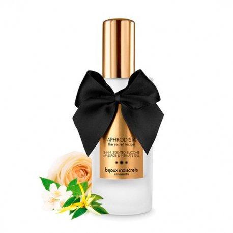 Aphrodisia 2 en 1 Aceite de Masaje Íntimo Perfumado de Silicona - diversual.com