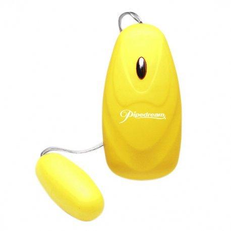 Huevo Vibrador Amarillo Neon Luv Touch