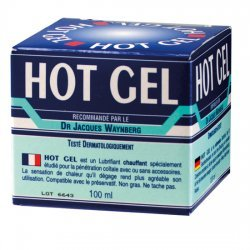 Hot Gel lubrifiant Lubrix 100 ml