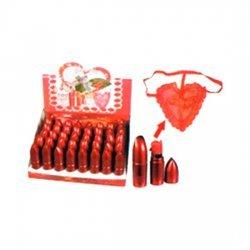 Rouge à lèvres avec lanière