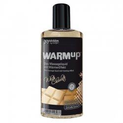 Huile de massage chaleur effet chocolat blanc