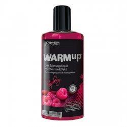 Massage oil effect heat raspberry
