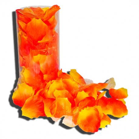 Pétalos de Rosa Naranja
