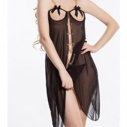 Baghdad black Nightgown