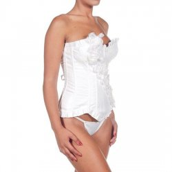 Intimax Corset Isis Blanco