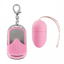 10 speed vibrating egg medium Pink Remote Control