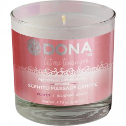 Massage candle Dona Flirty 135 gr