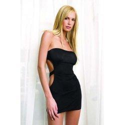 Black tube avec orifice arrière robe