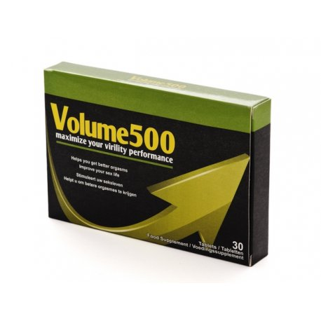 Volume 500 Cápsulas para Mejorar el Esperma