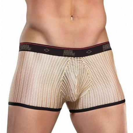 Male Power Boxer Chico Crochet Nude