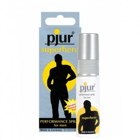 Pjur Superhero Spray Retardante - diversual.com